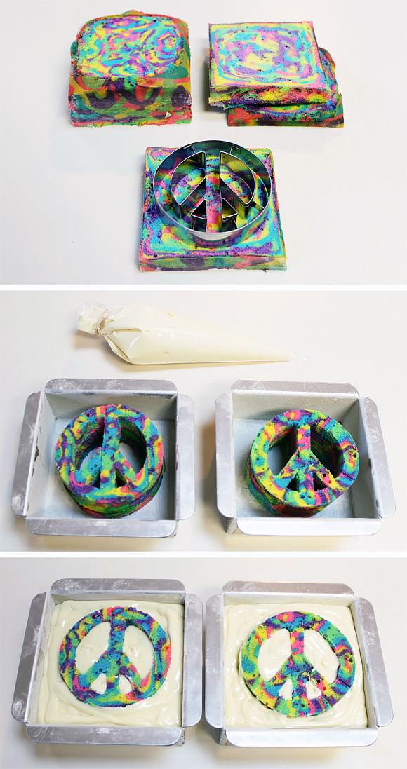 DIY Peace Cake