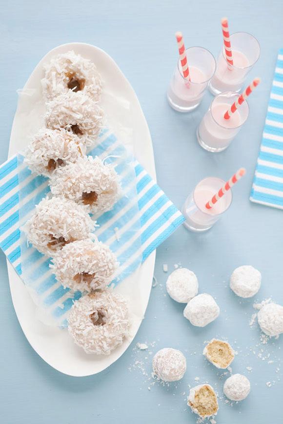 DIY Coconut Mini Donuts