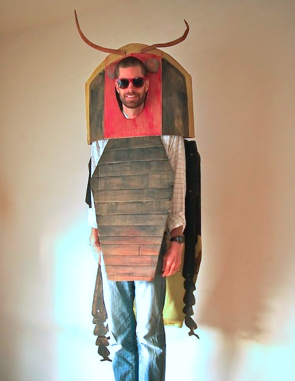DIY Cardboard Costume by The Cardboard Collective