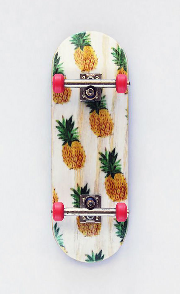 Pineapple Skateboard