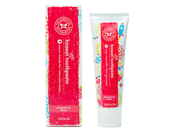 Natural Kid's Toothpaste rom The Honest Company
