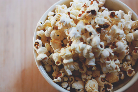Buttery Herbed Popcorn Recipe