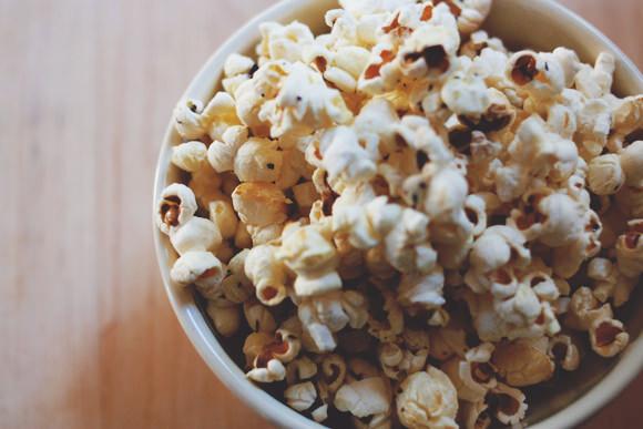 Buttery Herbed Popcorn Recipe