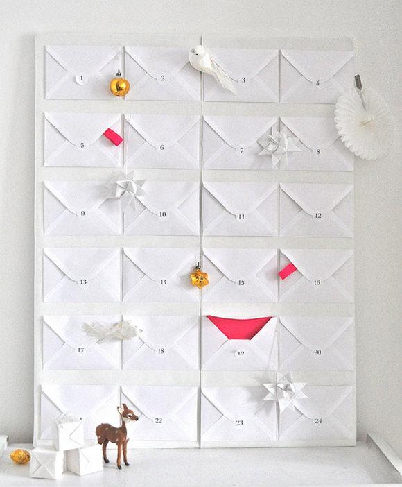DIY Envelope Advent Calendar