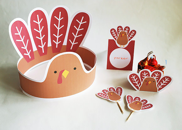 4 super fun thanksgiving printables for kids handmade charlotte. Black Bedroom Furniture Sets. Home Design Ideas