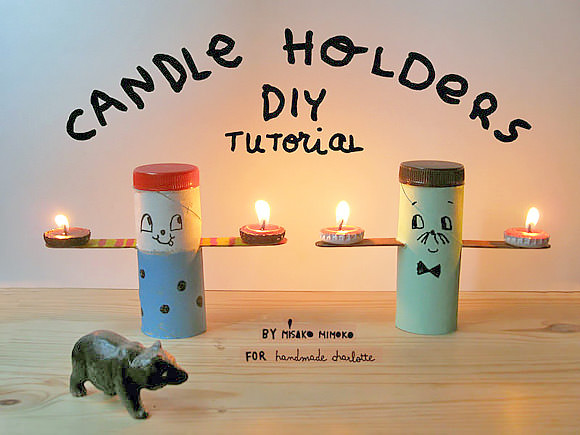 DIY Tea Light Candle Holders