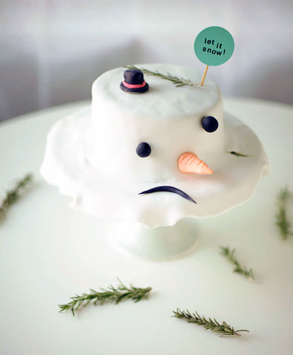 Image result for melting snowman