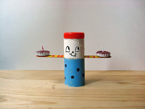 DIY Tea Light Candle Holders