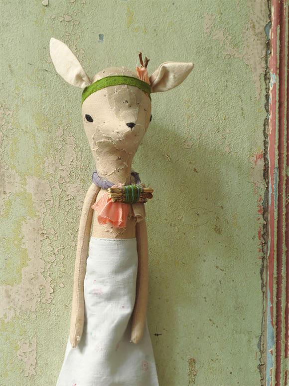 Petit Fawn Doll by Les Petits Bohèmes