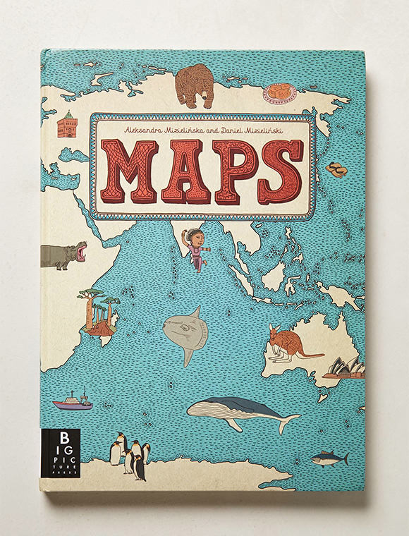Maps Book via Anthropologie