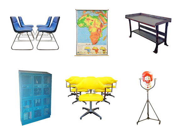 Vintage home decor from Chairish, a new consignment marketplace for the design-obsessed.