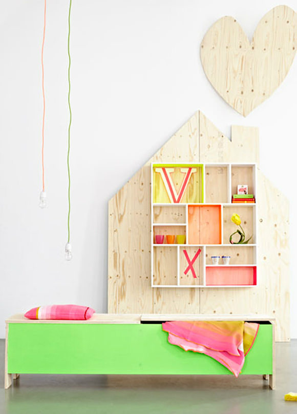 Untreated Plywood Furniture for Kids