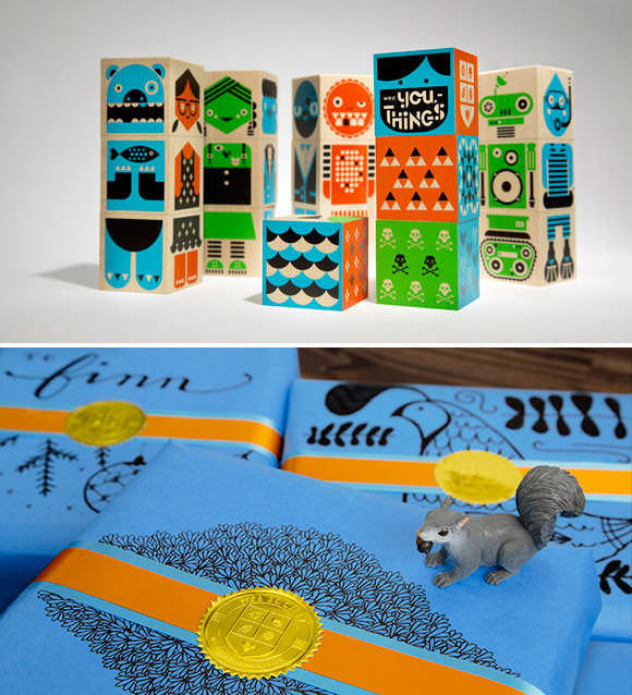 Wee You-Things Blocks by Wee Society