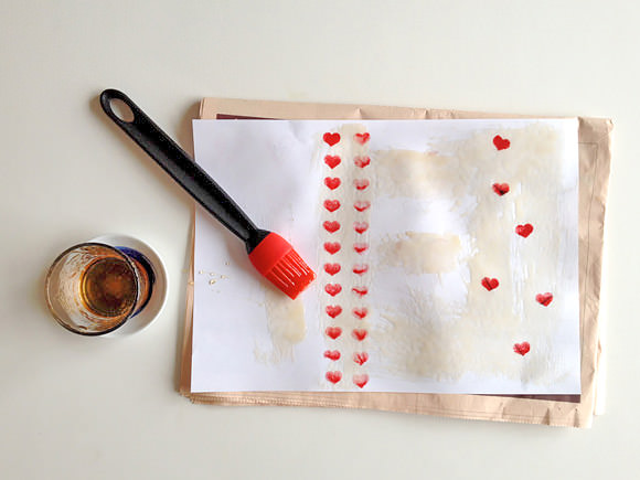 DIY Valentine's Day Stationery