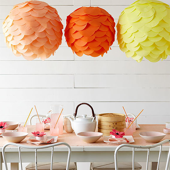 diy tissue paper lantern - Tissue Paper Decorations