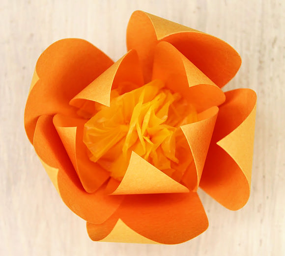 7 paper flower crafts for valentines day handmade charlotte diy pointed paper flowers mightylinksfo