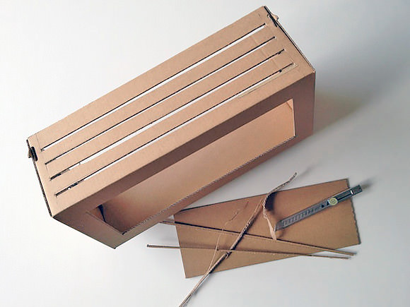 DIY Cardboard Shoebox Theater
