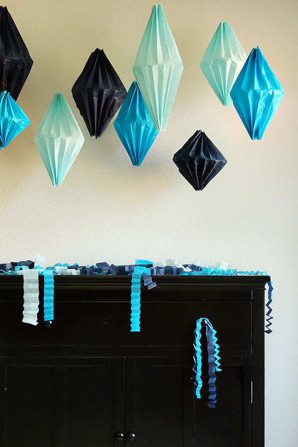 6 Easy DIY Paper Party Decorations ⋆ Handmade Charlotte