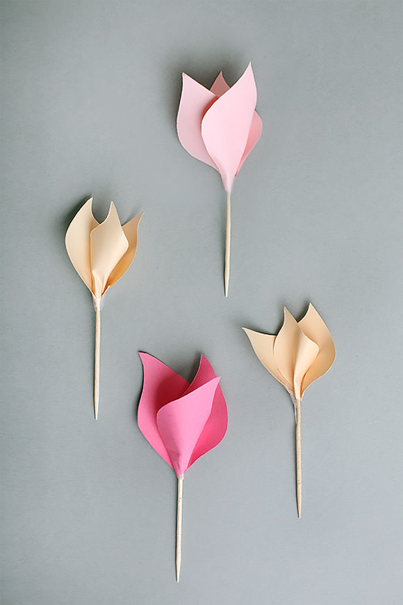 7 paper flower crafts for valentines day handmade charlotte diy paper tulips diy paper tulips visit trendenser for the tutorial mightylinksfo
