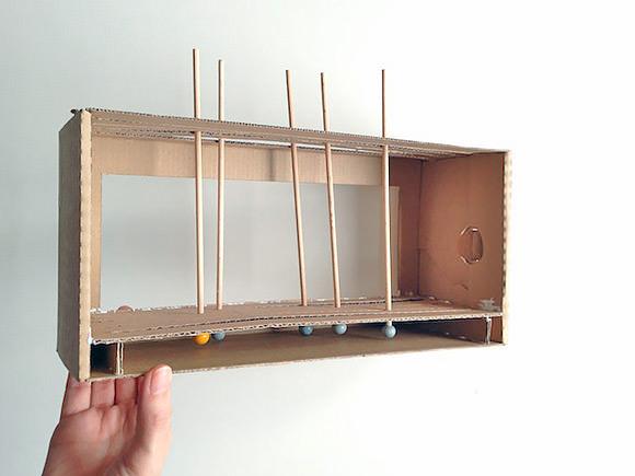 DIY Cardboard Shoebox Theater