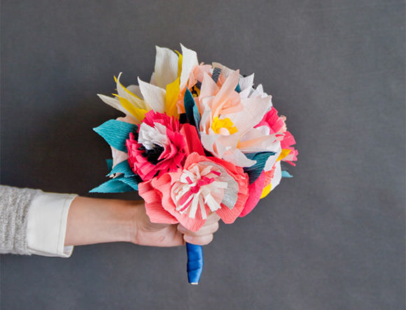 7 paper flower crafts for valentines day handmade charlotte diy paper flower bouquet mightylinksfo