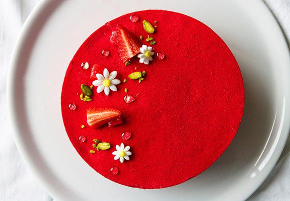 Ruby Red Strawberry Shortcake Recipe