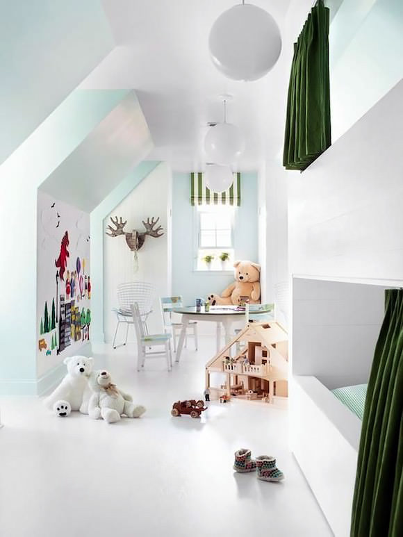 Tremendous 12 Ideas For Attic Kids Rooms Handmade Charlotte Download Free Architecture Designs Scobabritishbridgeorg