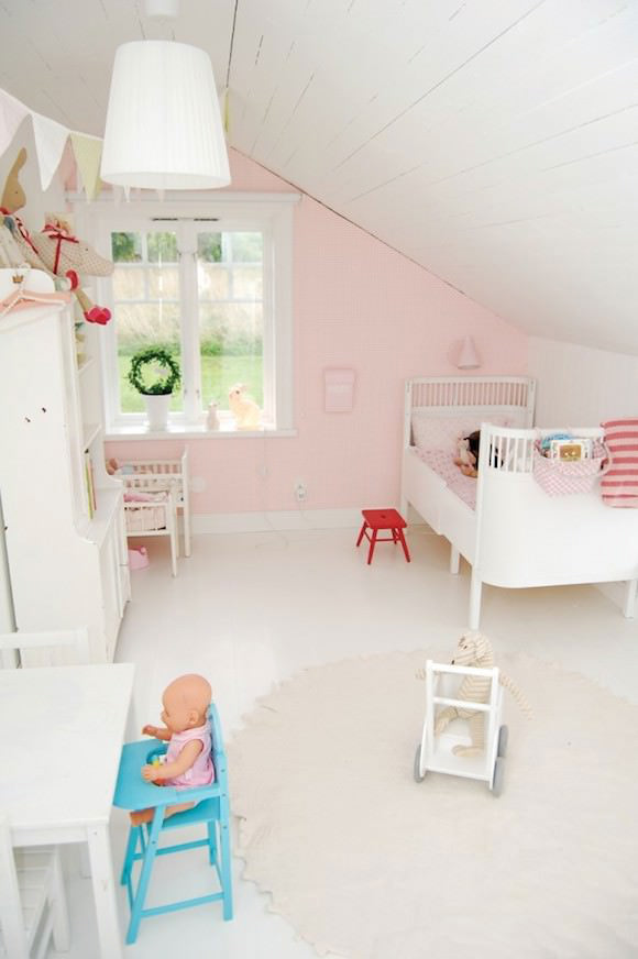 Attic Kidu0027s Room & 12 Ideas For Attic Kidsu0027 Rooms ? Handmade Charlotte