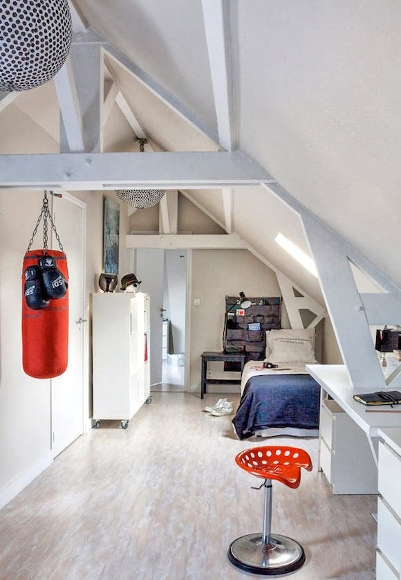 12 ideas for attic kids 39 rooms handmade charlotte for Images of loft rooms