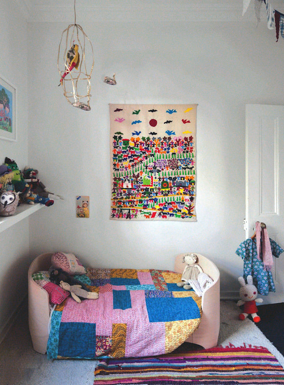 Colorful Kid's Room by Megan Morton