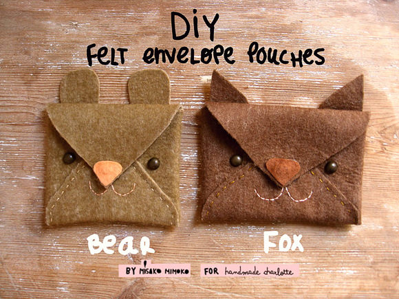 Make Super Cute Animal Pouches In Minutes ⋆ Handmade Charlotte