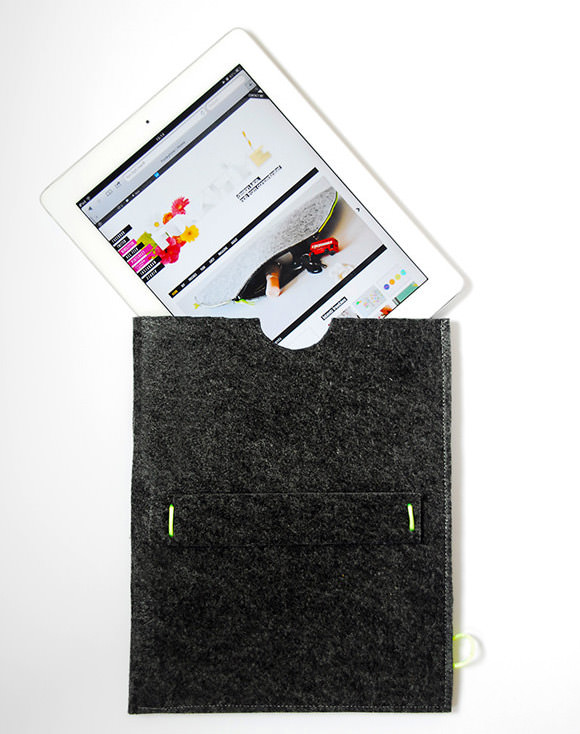 Make A Felt iPad Sleeve In 10 Minutes