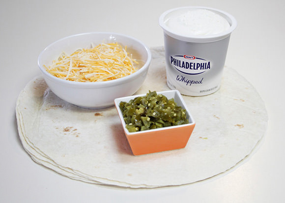 DIY Tortilla Rollups