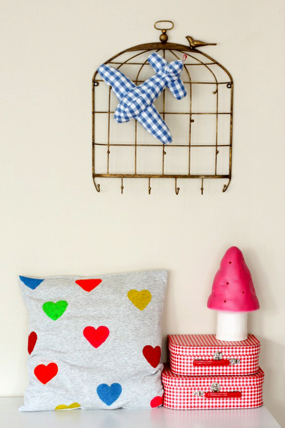 DIY Heart Cushion