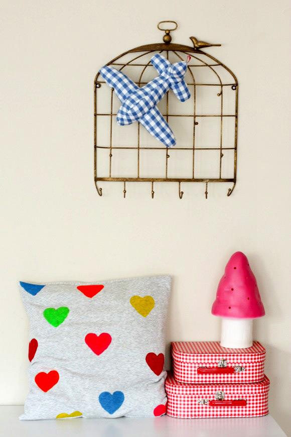 DIY Heart Cushion