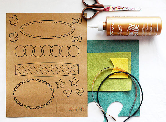 Printable Mix & Match Headbands