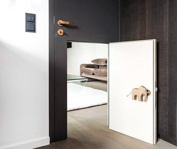 Childu0027s Door Within A Door By Studio Karnhard