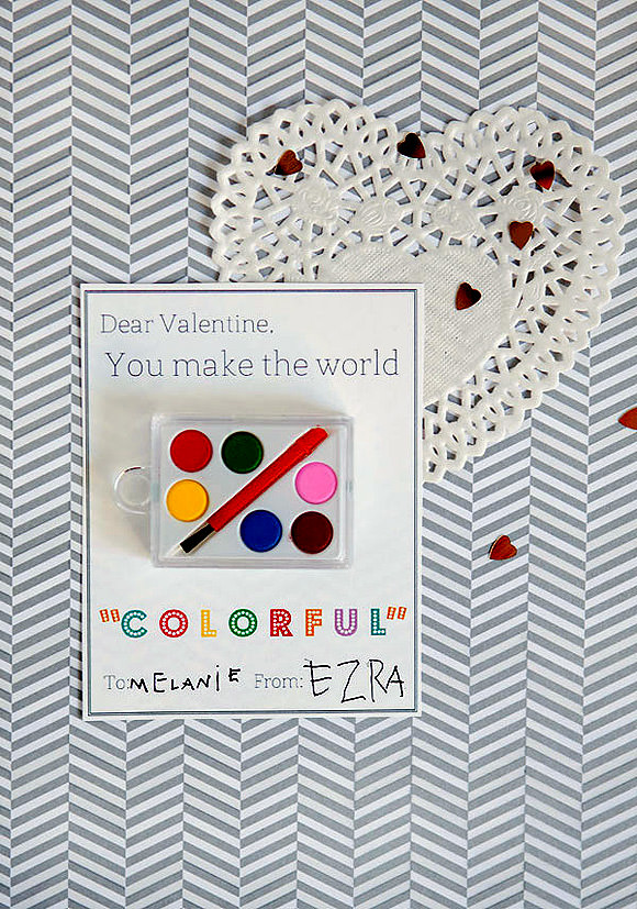 DIY Colorful Valentine's Day Printable