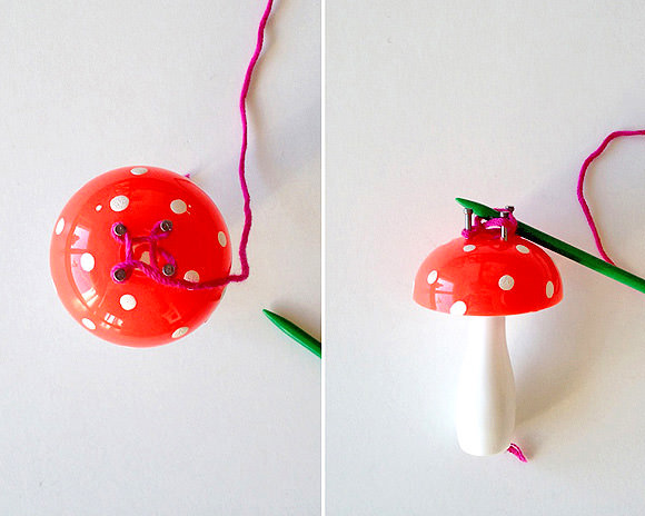 Knitting Mushroom for Kids