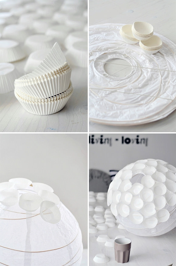 Diy Cupcake Liner Crafts