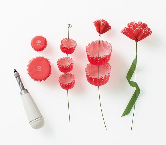 DIY Cupcake Liner Paper Flowers