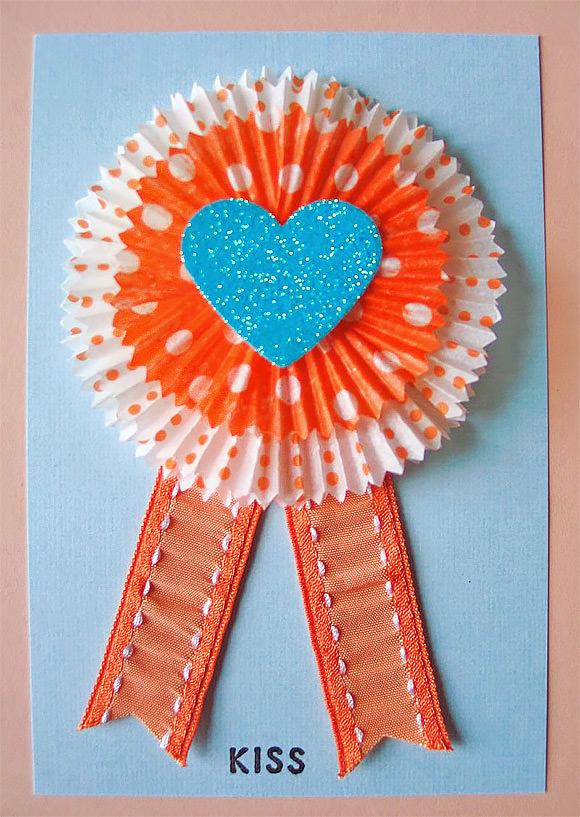 DIY Cupcake Liner Card