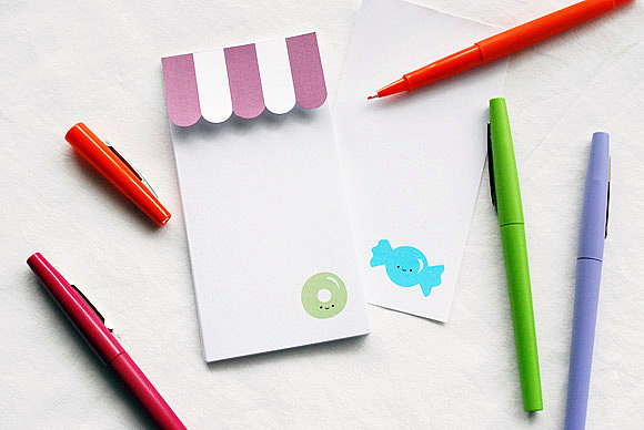 image about Printable Notepads named Printable Sweet Retail store Notepad ⋆ Selfmade Charlotte