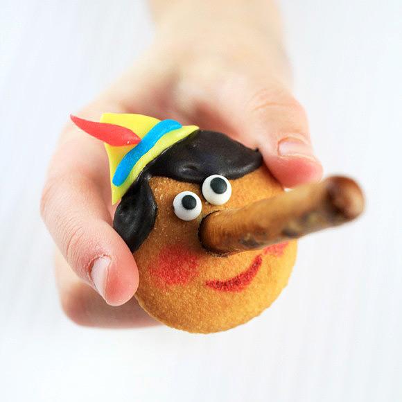 Pinocchio Cookies