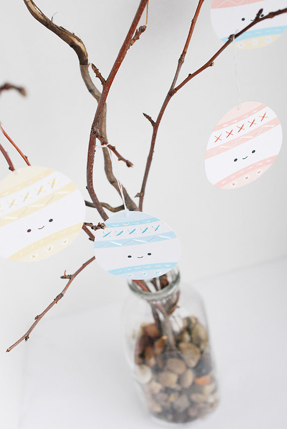 Printable Easter Egg Sewing Cards For Kids