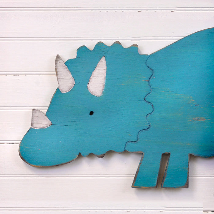 Dinosaur Wall Decor decorating with dinosaurs | handmade charlotte