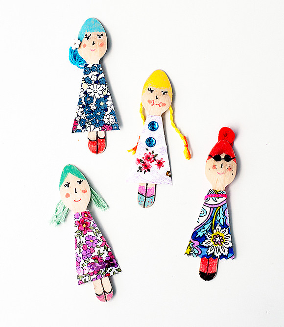 8 Fun Ways To Make Wooden Dolls ⋆ Handmade Charlotte
