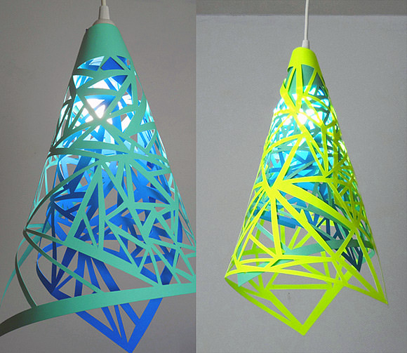 DIY Papercut Lamp