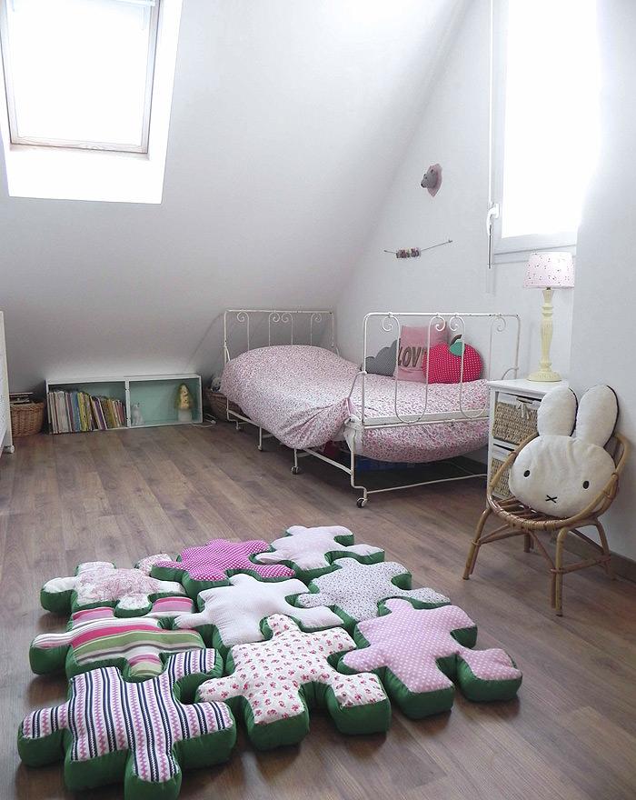 Puzzle Piece Floor Cushions