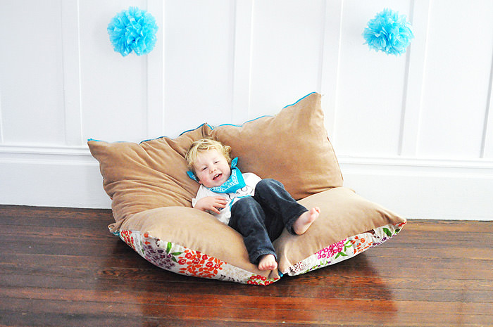 Playing with Poufs ⋆ Handmade Charlotte